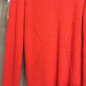 Ladies wool ski sweater